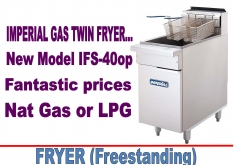 FRYER - FREESTANDING by IMPERIAL